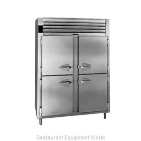 Traulsen RHT232WPUT-HHS Pass-Thru Refrigerator 2 sections