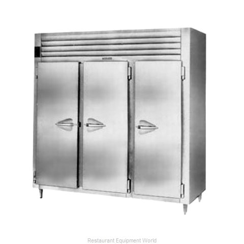 Traulsen RHT332NPUT-FHS Pass-Thru Refrigerator 3 sections
