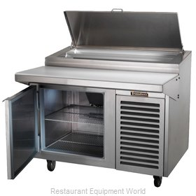 Traulsen TB046SL2S Refrigerated Counter, Pizza Prep Table