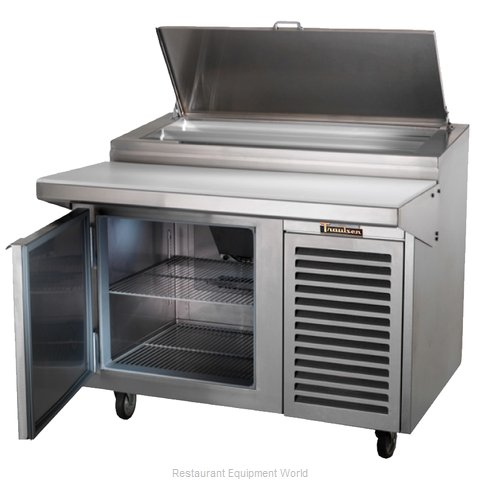 Traulsen TB060SL3S Refrigerated Counter, Pizza Prep Table