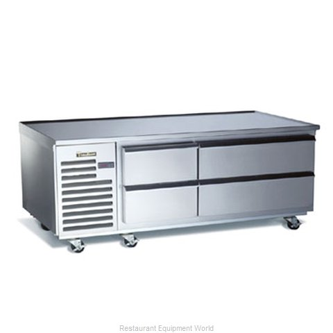 Traulsen TE065HR Refrigerated Counter Griddle Stand