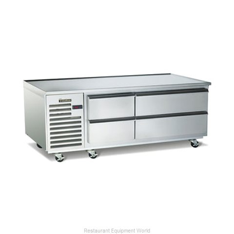 Traulsen TE065HT Refrigerated Counter Griddle Stand