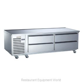 Traulsen TE072HR Equipment Stand, Refrigerated Base