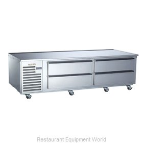 Traulsen TE084HR Equipment Stand, Refrigerated Base