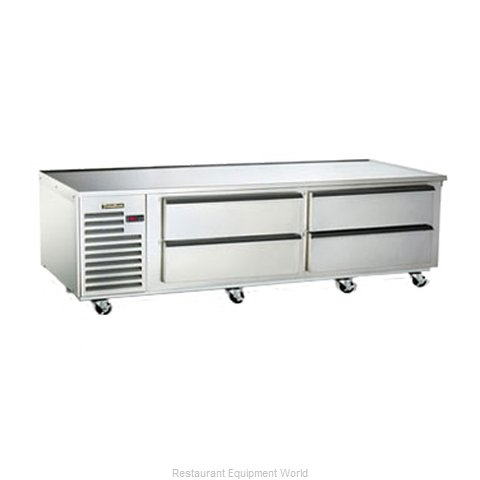 Traulsen TE084HT Refrigerated Counter Griddle Stand