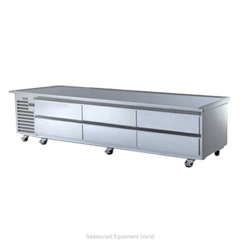 Traulsen TE110HR Refrigerated Counter Griddle Stand