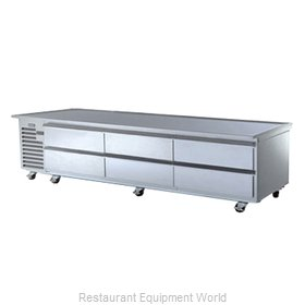 Traulsen TE110HR Equipment Stand, Refrigerated Base