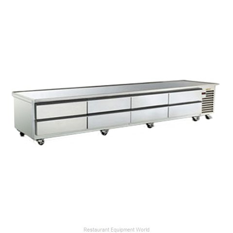 Traulsen TE110HT Refrigerated Counter Griddle Stand