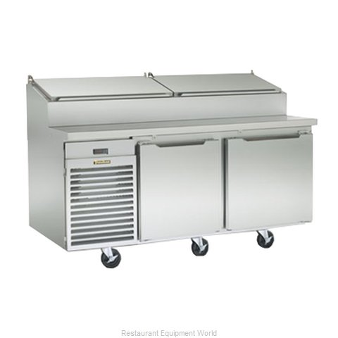 Traulsen TS072HR Pizza Prep Table Refrigerated