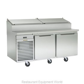 Traulsen TS072HT Refrigerated Counter, Pizza Prep Table
