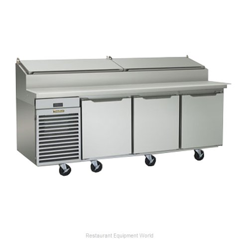Traulsen TS090HR Pizza Prep Table Refrigerated