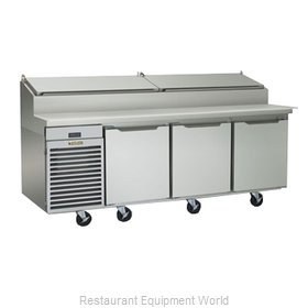 Traulsen TS090HR Refrigerated Counter, Pizza Prep Table