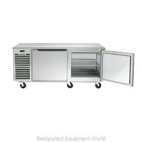 Traulsen TU072HR Refrigerator, Undercounter, Reach-In