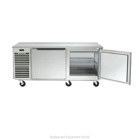 Traulsen TU072HT Reach-in Undercounter Refrigerator 2 section
