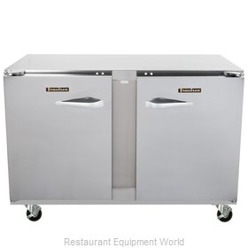 Traulsen UHT48-RR-SB Refrigerator, Undercounter, Reach-In