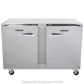 Traulsen UHT48-RR Refrigerator, Undercounter, Reach-In