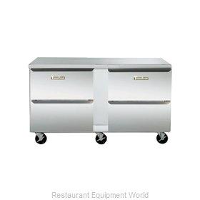 Traulsen UHT60-DD-SB Refrigerator, Undercounter, Reach-In