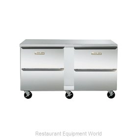 Traulsen UHT60-DD Refrigerator, Undercounter, Reach-In