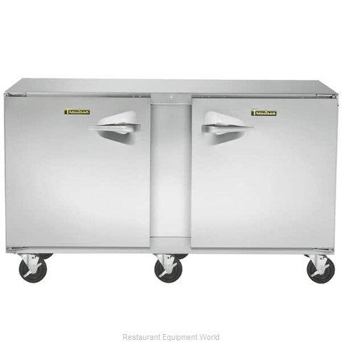Traulsen UHT60-RR Refrigerator, Undercounter, Reach-In