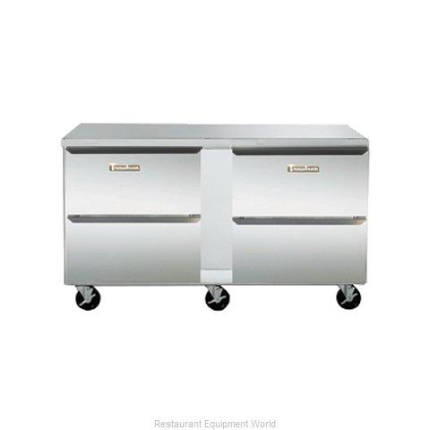 Traulsen UHT72-DD-SB Refrigerator, Undercounter, Reach-In
