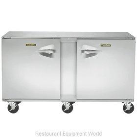 Traulsen UHT72-RR Refrigerator, Undercounter, Reach-In