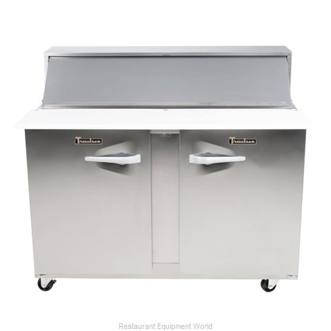 Traulsen UPT4812-RR-SB Refrigerated Counter, Sandwich / Salad Top