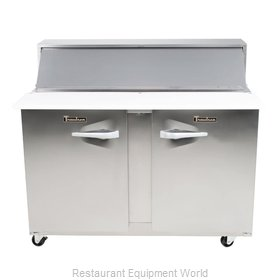 Traulsen UPT4812-RR-SB Refrigerated Counter, Sandwich / Salad Top