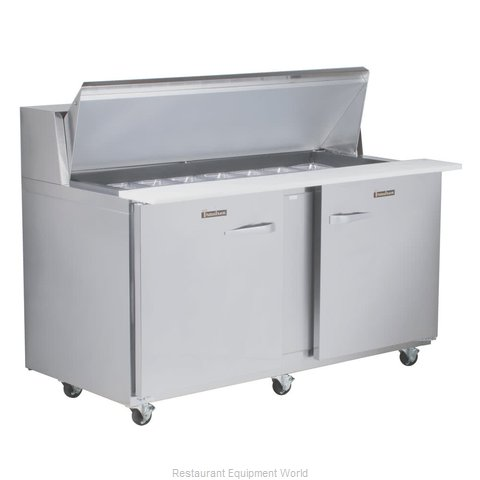 Traulsen UPT6012-LL-SB Refrigerated Counter, Sandwich / Salad Top