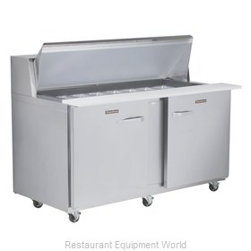 Traulsen UPT6012-RR-SB Refrigerated Counter, Sandwich / Salad Top