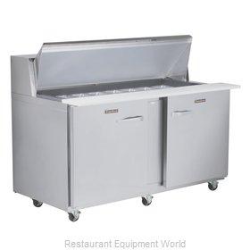 Traulsen UPT6024-LR-SB Refrigerated Counter, Sandwich / Salad Top