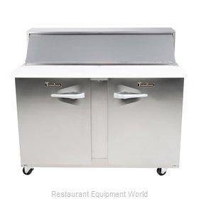 Traulsen UPT7218-RR-SB Refrigerated Counter, Sandwich / Salad Top