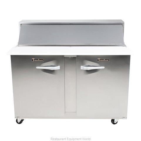 Traulsen UPT7224-RR-SB Refrigerated Counter, Sandwich / Salad Top