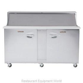 Traulsen UPT7230-LR Refrigerated Counter, Sandwich / Salad Top