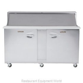 Traulsen UPT7230-RR-SB Refrigerated Counter, Sandwich / Salad Top
