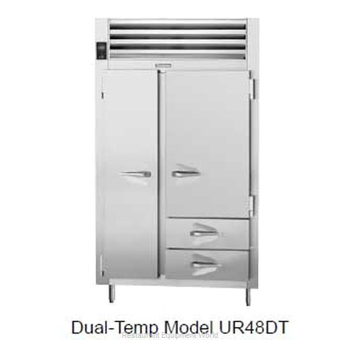 Traulsen UR48DT-14 Refrigerator/Freezer - Self-Contained