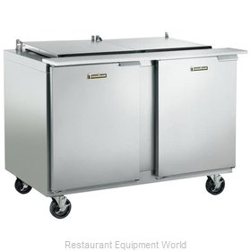 Traulsen UST4812-RR-SB Refrigerated Counter, Sandwich / Salad Top