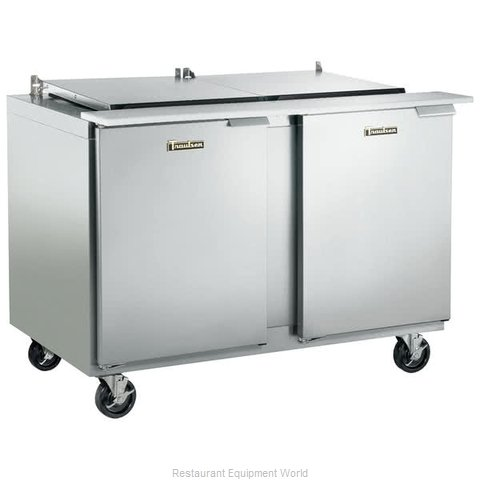 Traulsen UST488-RR-SB Refrigerated Counter, Sandwich / Salad Top