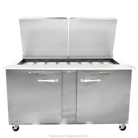 Traulsen UST6024-RR-SB Refrigerated Counter, Sandwich / Salad Top