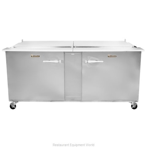 Traulsen UST7212-RR-SB Refrigerated Counter, Sandwich / Salad Top