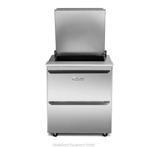 Traulsen UST7218-DD-SB Refrigerated Counter, Sandwich / Salad Top