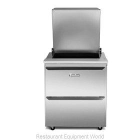Traulsen UST7224-DD-SB Refrigerated Counter, Sandwich / Salad Top