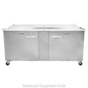 Traulsen UST7224-LL-SB Refrigerated Counter, Sandwich / Salad Top