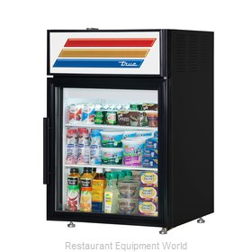 True GDM-05-HC-LD Display Case, Refrigerated, Countertop