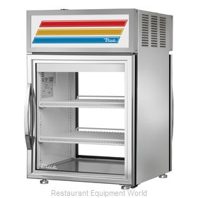 True GDM-05PT-S-HC~TSL01 Refrigerator, Merchandiser, Countertop