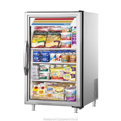 True GDM-07-S-HC~TSL01 Display Case, Refrigerated, Countertop