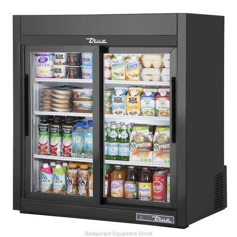 True GDM-09-SQ-HC-LD Display Case, Refrigerated, Countertop