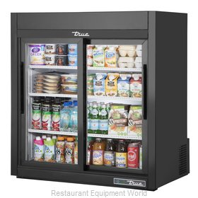 True GDM-09-SQ-HC-LD Display Case, Refrigerated, Countertop