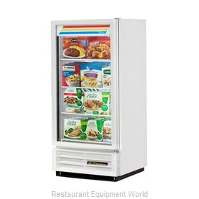 True GDM-10F-LD-W Freezer, Merchandiser