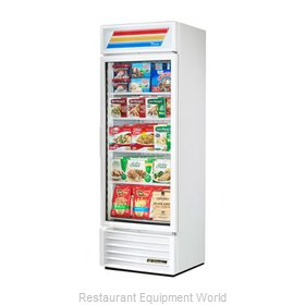 True GDM-19T-F-LD-W Freezer, Merchandiser