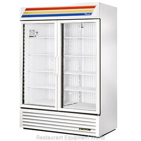 True GDM-49F-LD WHT CVS Freezer, Merchandiser